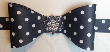 close up bow